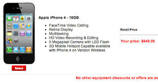 Get an iPhone 4 Cheap by Canceling Your Verizon Contract