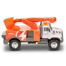 100 Tonka Mighty Motorized Fire Truck MIGHTY FLEET Tough Cab Cherry Picker