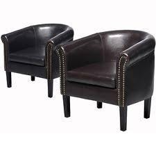 Natuzzi Swivel Tub Chair by Leather Barrel Chair Ebay