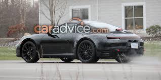 2019 Porsche 911 interior spied with big changes s 1 of 15
