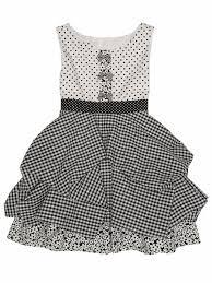 kate mack black u0026 white dot dress