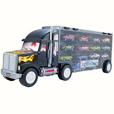 Big Truck Carrier Toy For Boys And Girls . Old) - Plastic Car ... Amazoncom Wvol Big Dump Truck Toy For Kids With Friction Power Farm Iveco Recycle 116th Scale Acapsule Toys And Gifts Of The Week Heavy Duty Ride On Imagine Taco Lunch Tote Mouth Always Fits Dzking Rc Truck 118 Remote Contro End 12272018 441 Pm John Deere 38cm Scoop Big W Powworkermini Fire Vehicle Red Black Red Lepin 20076 Technic Series Set 42078 Building Blocks Radio Control Wheel Monster 4wd Rock Crawler 27mhz Car