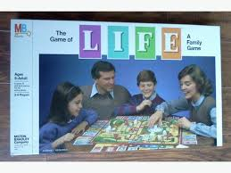 The Game Of Life Vintage Board