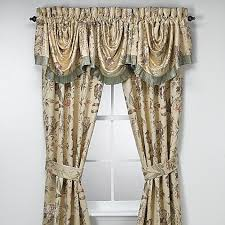 Bed Bath And Beyond Curtains And Drapes by Croscill Window Curtain Panel Pair And Valance Bed Bath U0026 Beyond