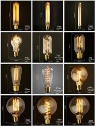 Vintage Edison Bulb E27 40W 220V Retro Incandescent Antique Style Carbon Filament Bulbs Pendant Light