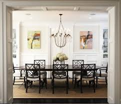 Abstract Landscape Oil Paintings Transitional Dining Room Throughout Artwork Decor 12