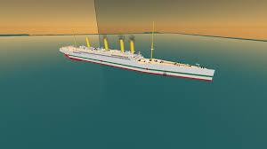 hmhs britannic sinking updates roblox