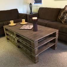 Coffee TablePallet Table Diy Easy Livingoom Mommyessence Com Plans Projects Hexagonal Tablecoffee Pinterestustic