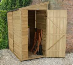 6 X 5 Apex Shed by Pressure Treated Overlap Sheds