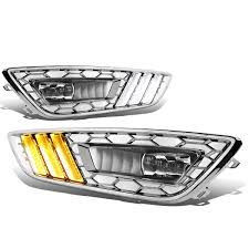 100 Truck Grills 20152017 FORD FOCUS BUMPER WITH GRILLS AND FOG LIGHT COVER