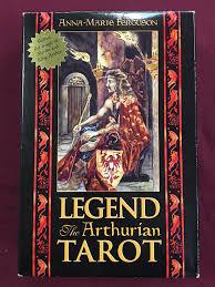 Mythic Tarot Deck Book Set by Legend The Arthurian Tarot Boxed Set By Anne Marie Ferguson