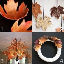 16 Fall Leaf Crafts DIY Fall decorations and crafts ideas made