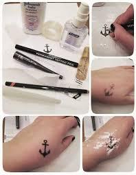 Fake Tattoo Tilraunir
