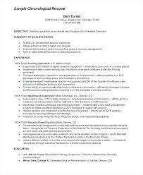 Resume For Security Armed Guard Sample Corporate Manager