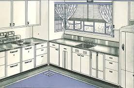 1940s Steel Kitchen Cabinets