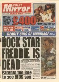 Freddie Mercury Death Bed by Last Photo