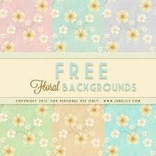 FREE Cute Vintage Floral Background