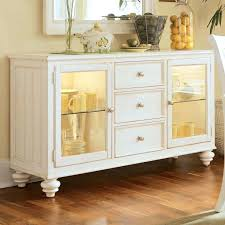 Dining Room Buffet Cabinet Sideboards Kitchen Hutch Drew Light China Credenza Black