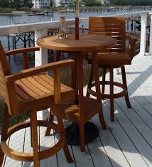 Teak Bar Furniture Teak Outdoor Bar Furniture from BenchSmith
