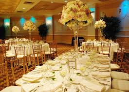 Long Table Setting For Wedding Vs Round Our Weddings Home Designing
