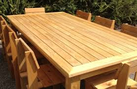 Rustic Outdoor Furniture Plans Rustic Farmhouse Dining Tables
