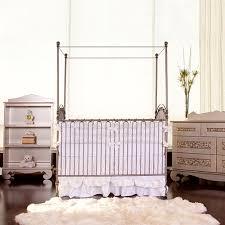 venetian iron crib in pewter and nursery necessities in interior