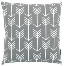 Decorative Couch Pillow Covers by Amazon Com Jinstyles Arrow Cotton Canvas Decorative Throw Pillow