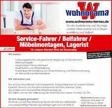 suchen service fahrer fahrer möbelmontagen lagerist