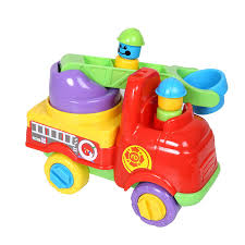 100 Tootsie Toy Fire Truck Buy Baby Fun Time With Turning Ladder 9