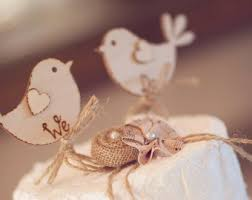 We Do Rustic Wedding Cake Topper Bird Wooden Best Seller