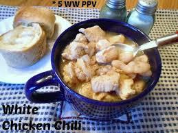 Weight Watchers Pumpkin Fluff Nutrition Facts by White Chicken Chili U2013 5 Weight Watchers Points Plus Value Recipe