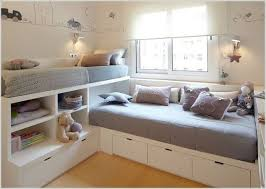 Beautiful Corner Beds With Storage and Space Saving Corner Twin