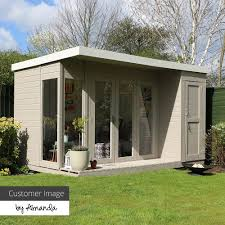 100 Contemporary Summer House 12 X 8 Waltons House With Side Shed HOW DOES