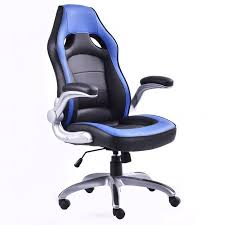 Gaming Desk Chair Walmart by Costway Pu Leather Executive Racing Style Bucket Seat Office Desk