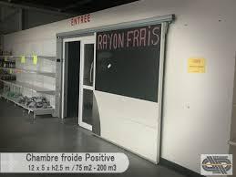 chambre froide positive occasion grande chambre froide positive 0 c 4 c 200 m3 75 m2 au sol
