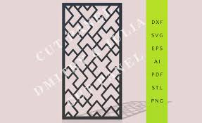 amnur cut panel dxf svg eps ready to cut file cnc template