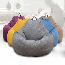 Large 100*120 Color Bean Bag Chairs Couch Sofa Cover Indoor Lazy Sofa For  Adults Kids Top 10 Bean Bag Chairs For Adults Of 2019 Video Review 2pc Chair Cover Without Filling Beanbag For Adult Kids 30x35 01 Jaxx Nimbus Spandex Adultsfniture Rec Family Rooms And More Large Hot Pink 315x354 Couch Sofa Only Indoor Lazy Lounger No Filler Details About Footrest Ebay Uk Waterproof Inoutdoor Gamer Seat Sizes Comfybean Organic Cotton Oversized Solid Mint Green 8 In True Nesloth 100120cm Soft Pros Cons Cool Desain