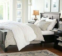 Pottery Barn Master Bedroom by Fillmore Square Upholstered Bed U0026 Headboard Pottery Barn Home