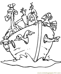 Bible Story Coloring Page 12