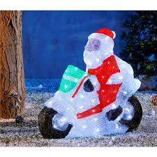 Dessin Du Pere Noel En Couleur Sticker Noël Le Père Noël Venu De