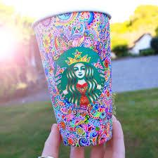 Starbucks Mug Art For Random Awesomeness0101
