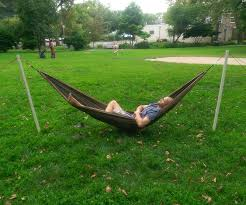 Free-Standing Portable Hammock Stand | Hammock Stand, Camping And ... Fniture Indoor Hammock Chair Stand Wooden Diy Tripod Hammocks 40 That You Can Make This Weekend 20 Hangout Ideas For Your Backyard Garden Lovers Club I Dont Have Trees A Hammock And Didnt Want Metal Frame So How To Build Pergola In Under 200 A Durable From Posts 25 Unique Stand Ideas On Pinterest Diy Patio Admirable Homemade To At Relax Your Yard Even Without With Zig Zag Reviews Home Outdoor Decoration