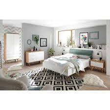 lomadox jugendzimmer set mainz 61 sparset schlafzimmer jugendzimmer komplettset weiß matt eiche riviera und mint grün skandinavischer stil