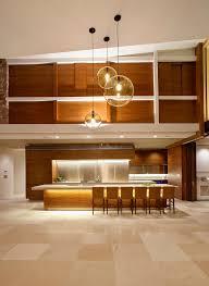 mid century modern kitchen contemporary with pendant light beige