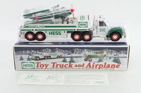 100 Hess Truck Toy HESS TRUCK And Airplane 2002 Edition Childrens Play
