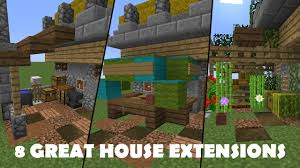 100 Log Cabin Extensions 8 Great To Improve Any House Minecraft Tutorial YouTube