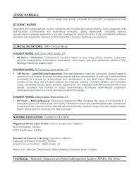 Nursing Resume Templates Free Registered Nurse Template Nurses Format