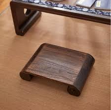 japanische antike niedrigen hocker bank stuhl paulownia holz asiatische traditionelle möbel wohnzimmer tragbare ständer vintage hocker