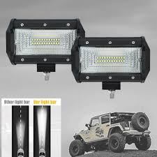 7d 5 inch 150皸 flood beam cree led car light work light bar for