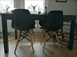 esszimmer stühle skandinavischer stil schwarz